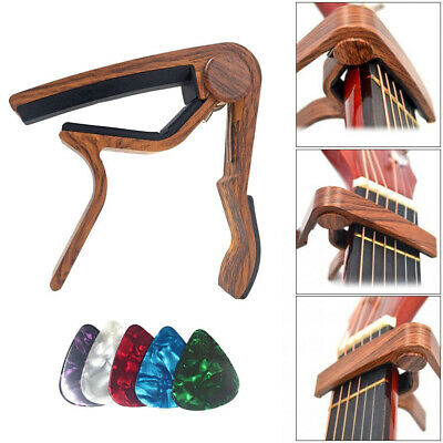 Guitar Capo Trigger Clamps For Acoustic Electric Classical Guitars Banjo Ukulele