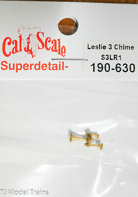 HO Scale Cal-Scale HO #565 Leslie S-5T-RRO Horn Brass Casting