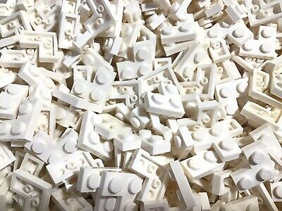Lego Lot of 50 New White Plates 2 x 2 Corner Pieces Parts
