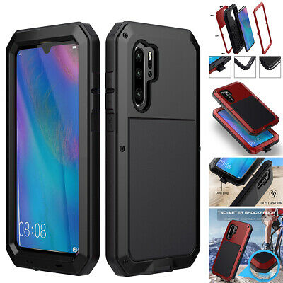 For Huawei P30 Pro Case Metal Shockproof Aluminum Heavy Duty Waterproof Cover AU