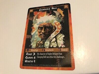 1996 WHITE WOLF ARCADIA THE WYLD HUNT COLLECTIBLE CARD GAME CCG UNOPENED PACK