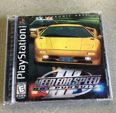 Need For Speed Iii Hot Pursuit Ps1 Complete Manual 10 00