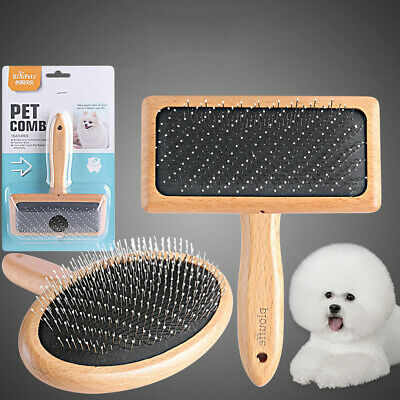 Pet Dog Cat Grooming Comb Shedding Hair Removal Massage Brush Pet Supplies