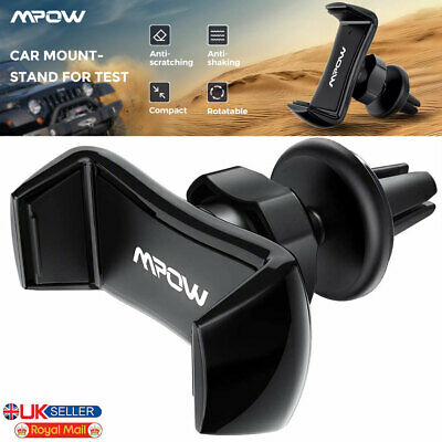 Universal 360° Rotating Car Mobile Phone Holder Air Vent Mount Cradle for GPS UK