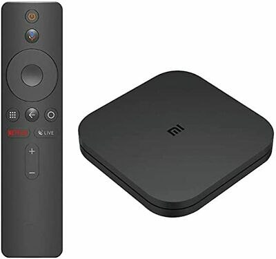 Xiaomi MI TV BOX S-Lettore streaming Ultra HD4K,Google Assistant with Chromecast