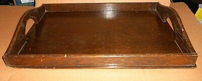 Vintage Wooden Butlers Serving Tray