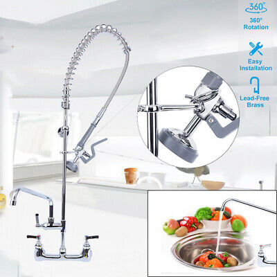 SAMGER 360 Degree Mature Kitchen Faucet Dual Waterfall Cleaning Battery
