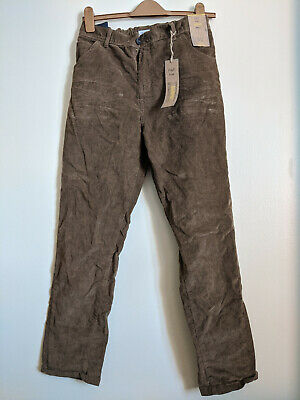 F&F Boy's Slim Fit Denim Jeans Trousers Children's 13-14 Years old Kids Brown