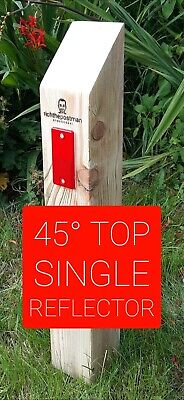 richthepostman verge posts/wooden posts/no dig/no parking/reflectors/England