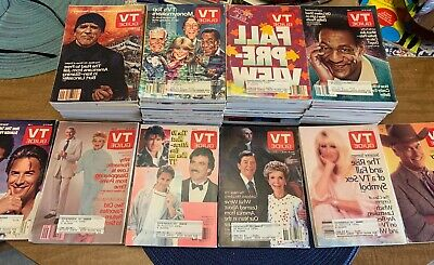 1986 TV Guides 41 Guides