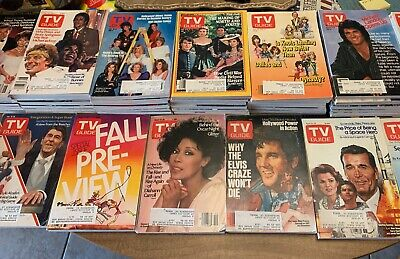1985 TV Guides 55 total. S/H $12.00
