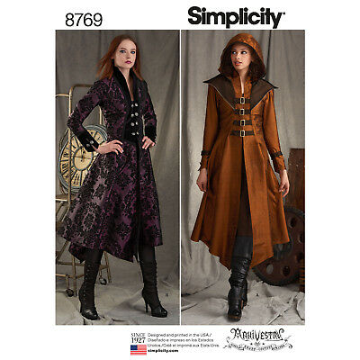 Schnittmuster Gothic-Cosplay 2 Mantel Gr.40-48