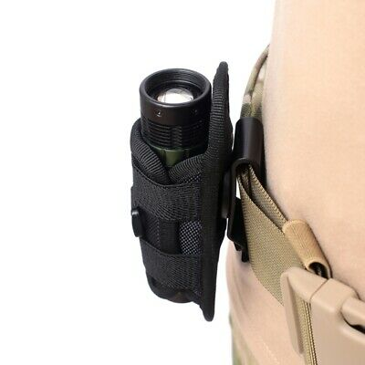 Leather Multitool Holder Essential Organizer Belt Pouch Flashlight Tactical F7T5