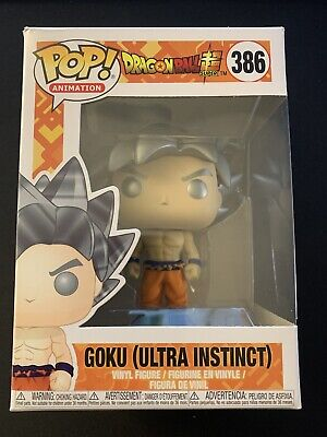 Funko Pop Animation Dragon Ball Super Goku Ultra Instinct Form Vinyl Figure