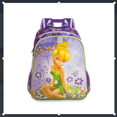 Disney Store Tinker Bell Backpack - Back to School - New