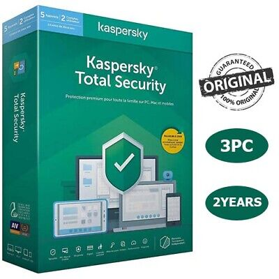 Kaspersky Total Security 2020 3 Pc Device 2 Year 🔑 Global Key Win/Mac/Android