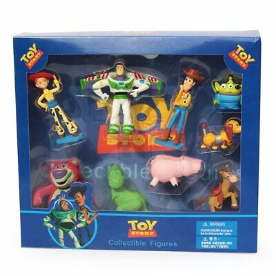 Toy Story Figures Woody Buzz Lightyear 9 Pcs Action Figure Kids Toys