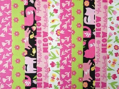 20 JELLY ROLL STRIPS COTTON PATCHWORK FABRIC 22 INCH LONG ~ DESERT DINO