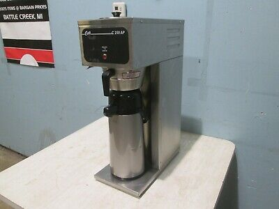 """""""CURTIS"""" H.D. COMMERCIAL (NSF) """"POUR-OVER"""" COFFEE BREWER w/""""AIR-POT"""" DISPENSER"""