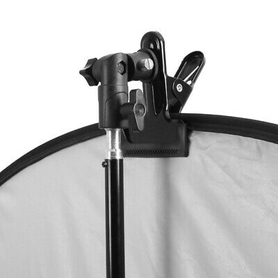 Head Light Stand Reflector Background Heavy Duty Clip Clamp SG