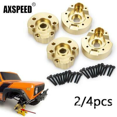 Upgrade Brass Counterweight Rear Axle Sleeve Cover for Redcat Gen8 RC Model Car