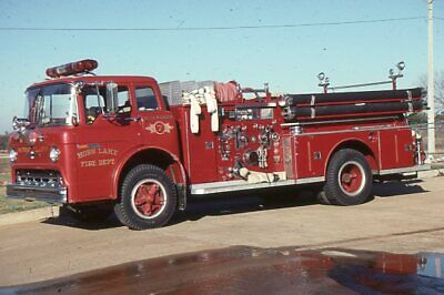 RESCUE 2 WEST HAVEN FIRE DEPT WHFD 1968 FORD MONTPELIER 8 X 12 PRINT