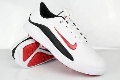 Nike Men S Vapor Golf Shoes Water Resistant 9 5 White Red Aq2302 103 44 99 Picclick