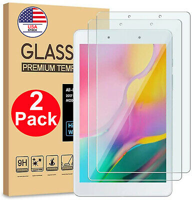 """2PACK Tempered Glass Screen Protector for Samsung Galaxy Tab A 8.0 """" T290/T295"""