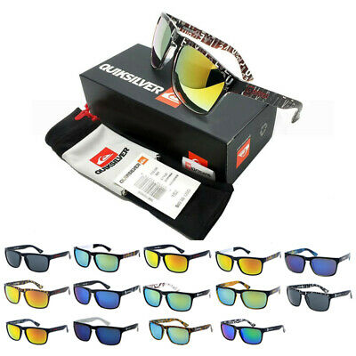 Quiksilver Sunglasses Outdoor Sports Surfing Fishing Vintage Shades Brand BOX