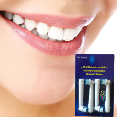 8 x Replacement Toothbrush Heads Electric Brush Fit for Oral B Braun Models