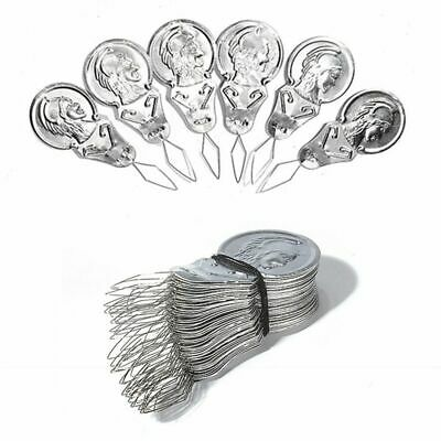 Pack of 50pcs Bow Needle Threader Threaders For Hand or Sewing Machine New