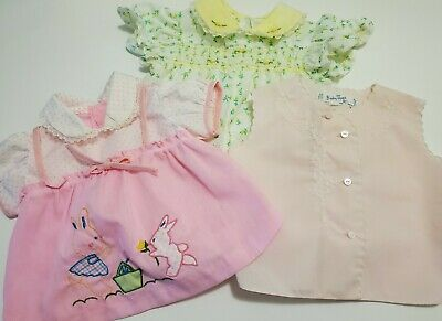 Premature Baby DressPink /& White3-5lbs 5-8lbs 8-10lbsTiny BabySmall
