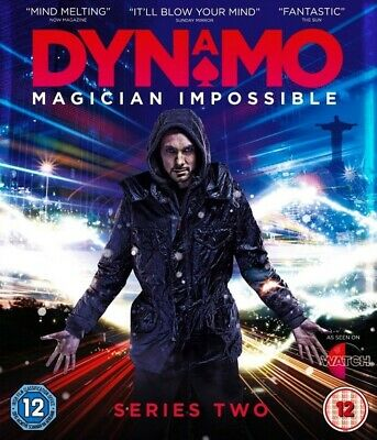 Dynamo: Magician Impossible: Series Two (Blu-ray Disc, 2012)