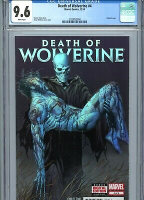 DEATH OF WOLVERINE #3 CGC 9.6 White Pages Holofoil
