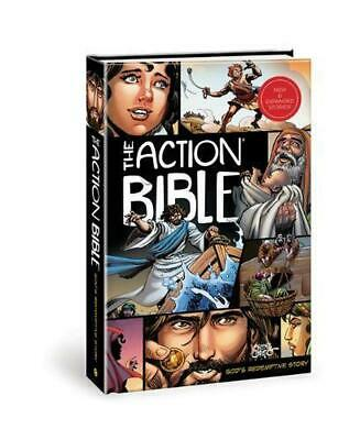 The Action Bible: God's Redemptive Story (English) Hardcover Book Free Shipping!