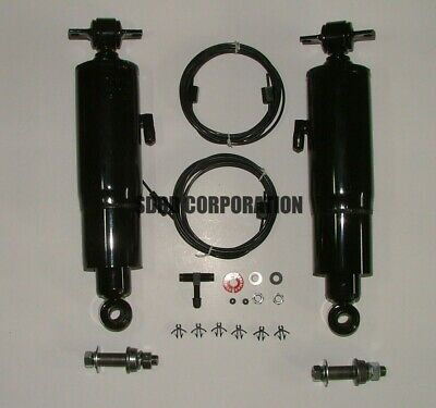 1970-1976 Plymouth Duster  Gabriel Air Shocks Extended  22.08 Comp 13.85