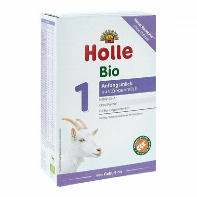 Holle Goat Milk Stage 1 Organic Formula 4 boxes 400g (free worldwide shipping)