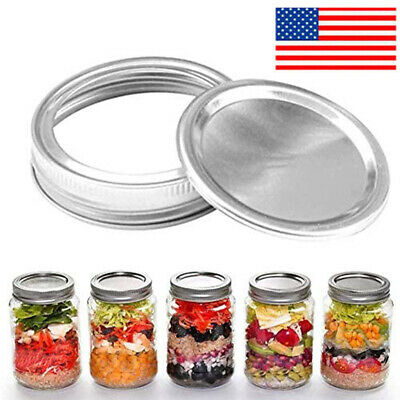 1PC/12PC/48Pcs Metal Can Lid Circle Ring for Most Cans US SHIP NEW
