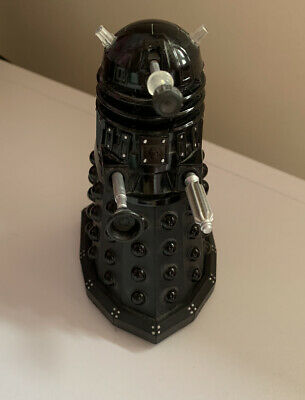"Doctor Who Black Dalek Leader Sec Blue Eye New Series 5"" Action Figure"