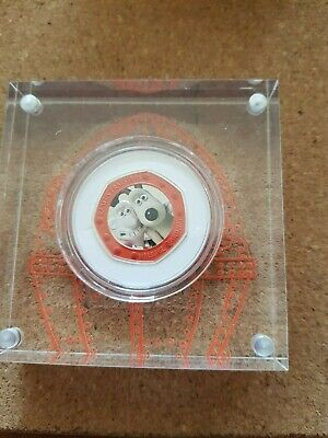 2019 UK 'Wallace & Gromit'  Silver Proof 50p