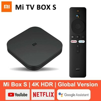 Xiaomi Mi TV Box S EU Version 4K Android 8.1 8Go Media Player Google Assistant