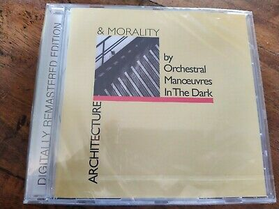 Orchestral Manoeuvres In The Dark OMD Architecture & Morality New CD Remastered