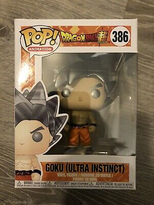 Funko Pop!  Pop Animation Dragon Ball  Z Super Goku (Ultra Instinct) #386