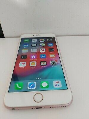 Apple iPhone 6S Plus 64GB Unlocked Rose Gold Warranty Smartphone No Touch ID