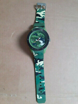 Army Camouflage Watch Unisex Soldier Gift Military Silicon Strap Spares Repairs