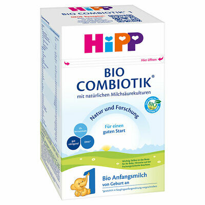 HiPP Combiotic Stage 1 Infant Formula 6 boxes 600g (free worldwide shipping)