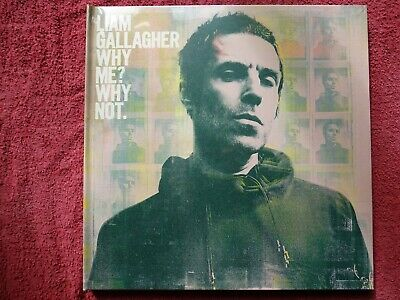 Liam Gallagher.. Why Me? Why Not. Box Set.. Mint & Sealed.