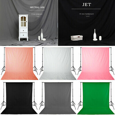 Photography Photo Studio Background Support Stand Kit Green Screen Backdrop Set