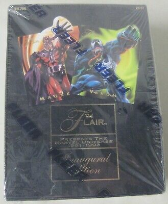Sealed 1994 Fleer Flair Marvel Universe Trading Cards Inaugural Edition 24 Count