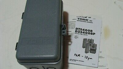 NEW TORK DZS400BP 4 Channel Time Switch ASTRONOMIC 365 DAY SPDT 30A 120/277V